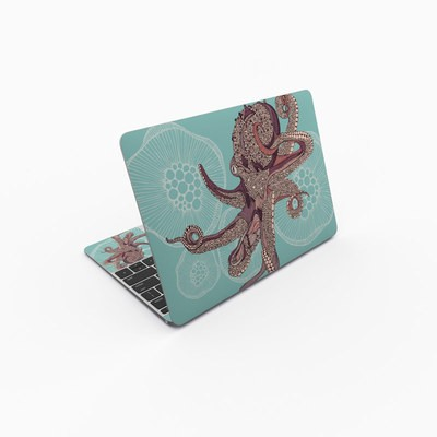 MacBook 12in Skin - Octopus Bloom