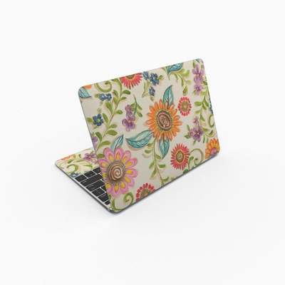 MacBook 12in Skin - Olivia's Garden