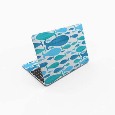 MacBook 12in Skin - Ocean Rain