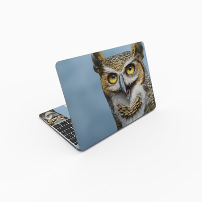 MacBook 12in Skin - Owl Totem