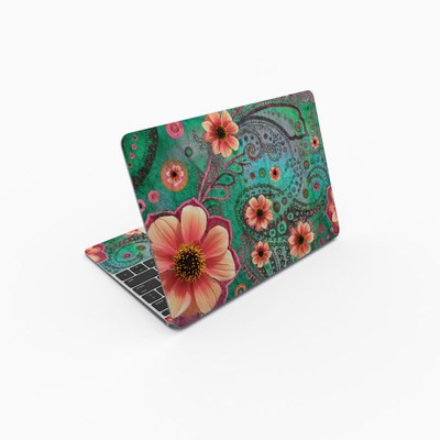 MacBook 12in Skin - Paisley Paradise