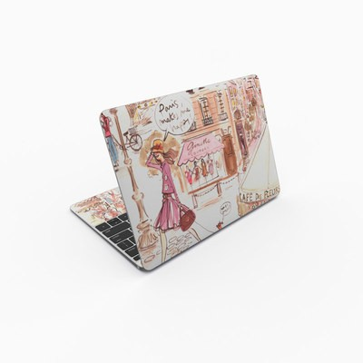 MacBook 12in Skin - Paris Makes Me Happy