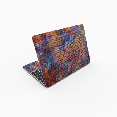 MacBook 12in Skin - Painted Brick