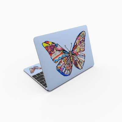 MacBook 12in Skin - Pieced Butterfly