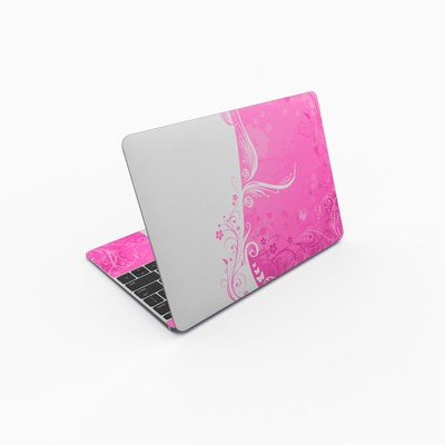 MacBook 12in Skin - Pink Crush