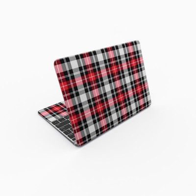 MacBook 12in Skin - Red Plaid