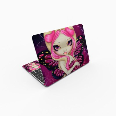 MacBook 12in Skin - Pink Lightning