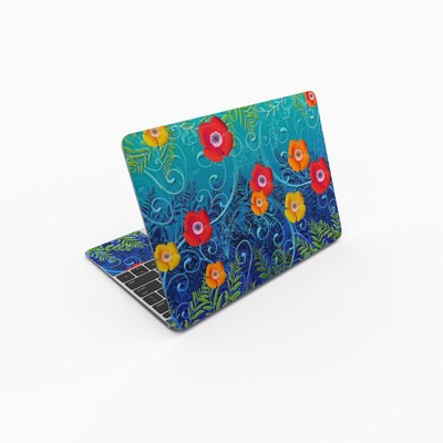 MacBook 12in Skin - Poppies