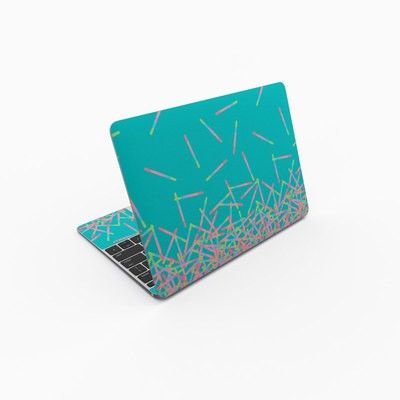 MacBook 12in Skin - Pop Rocks Wands