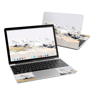 MacBook 12in Skin - Pastel Mountains