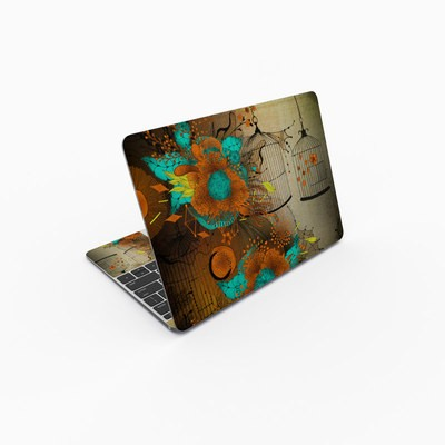 MacBook 12in Skin - Rusty Lace
