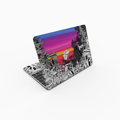 MacBook 12in Skin - Robo Fight