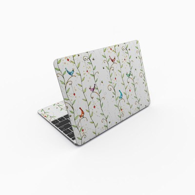 MacBook 12in Skin - Royal Birds