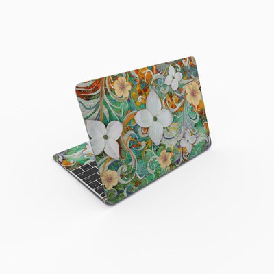 MacBook 12in Skin - Sangria Flora