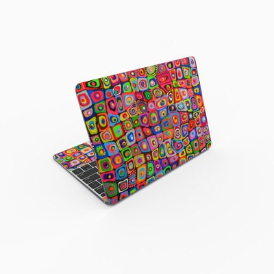 MacBook 12in Skin - Square Dancing