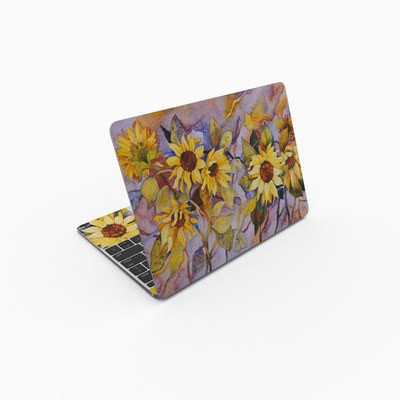 MacBook 12in Skin - Sunflower