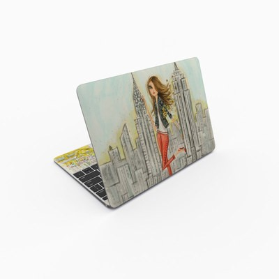 MacBook 12in Skin - The Sights New York