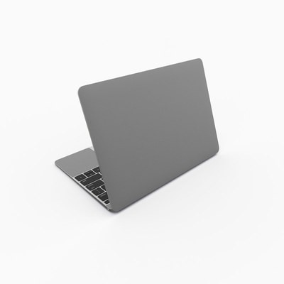MacBook 12in Skin - Solid State Grey