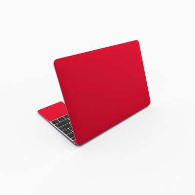 MacBook 12in Skin - Solid State Red