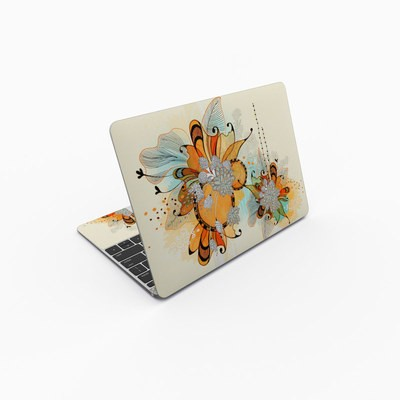 MacBook 12in Skin - Sunset Flowers