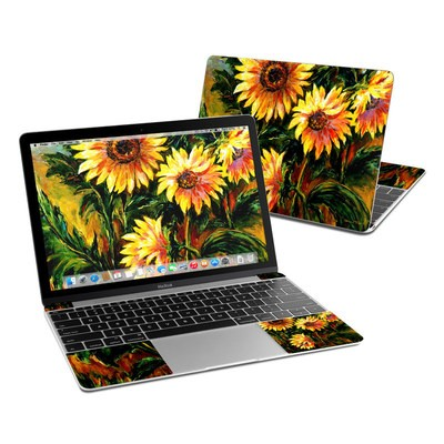 MacBook 12in Skin - Sunflower Sunshine