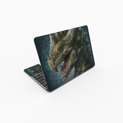 MacBook 12in Skin - Stone Dragon