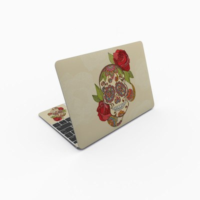 MacBook 12in Skin - Sugar Skull