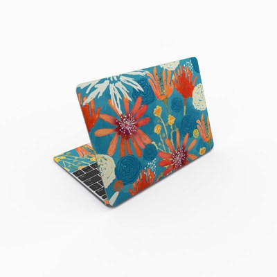 MacBook 12in Skin - Sunbaked Blooms