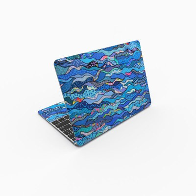 MacBook 12in Skin - The Blues