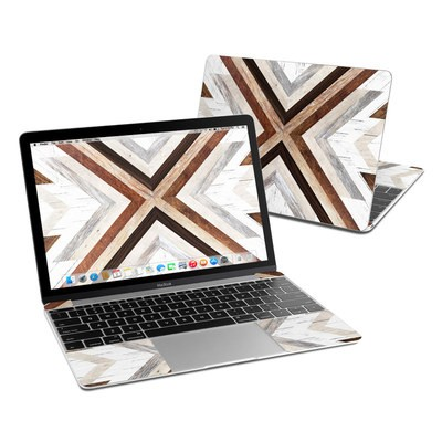 MacBook 12in Skin - Timber