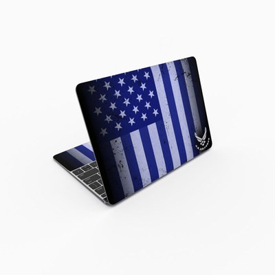 MacBook 12in Skin - USAF Flag