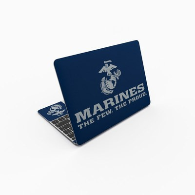 MacBook 12in Skin - USMC Blue