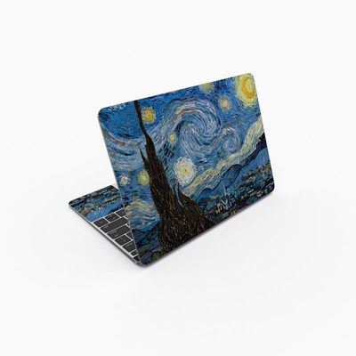MacBook 12in Skin - Starry Night