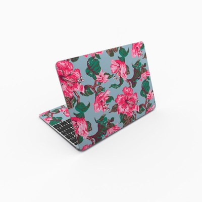 MacBook 12in Skin - Vintage Hibiscus