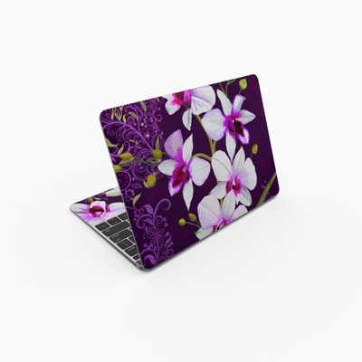 MacBook 12in Skin - Violet Worlds