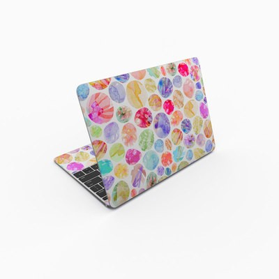 MacBook 12in Skin - Watercolor Dots