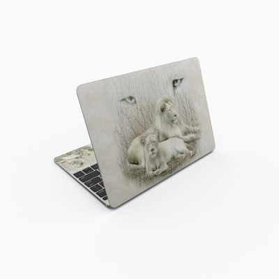 MacBook 12in Skin - White Lion