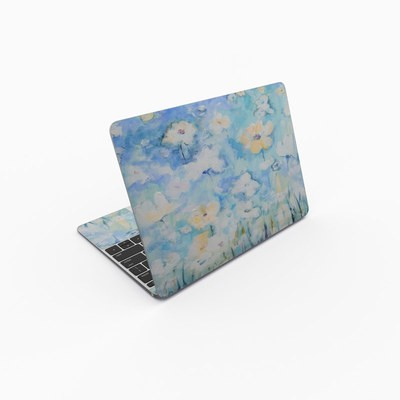 MacBook 12in Skin - White & Blue