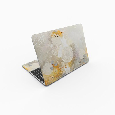 MacBook 12in Skin - White Velvet