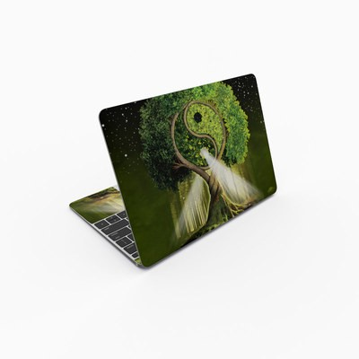 MacBook 12in Skin - Yin Yang Tree