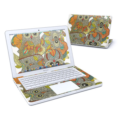 MacBook 13in Skin - 4 owls
