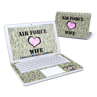 MacBook 13in Skin - Air Force Wife