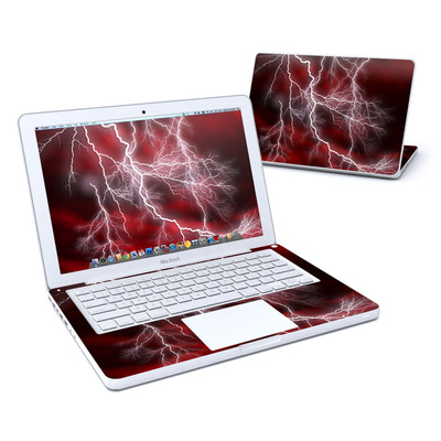 MacBook 13in Skin - Apocalypse Red
