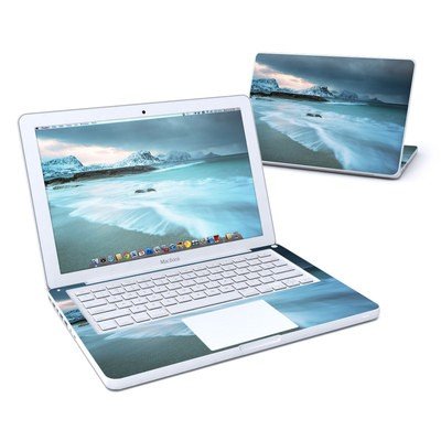MacBook 13in Skin - Arctic Ocean