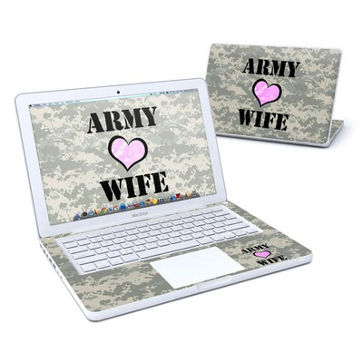 MacBook 13in Skin - Army Wife