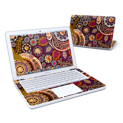 MacBook 13in Skin - Autumn Mehndi