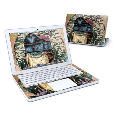 MacBook 13in Skin - Barn Owl Fortune
