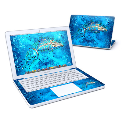 MacBook 13in Skin - Barracuda Bones