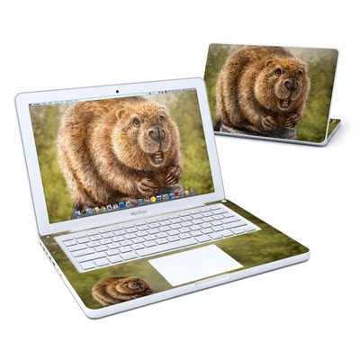 MacBook 13in Skin - Beaver Totem