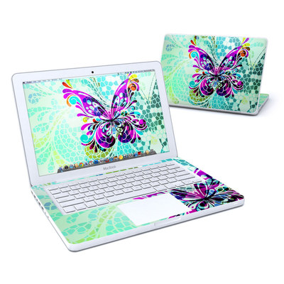 MacBook 13in Skin - Butterfly Glass